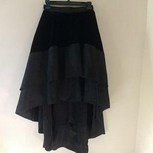 Bebe Hi-Low Skirt